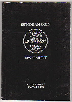 Pb ESTONIAN COIN CATALOG (in ENGLISH) G. Haljak 1993 Tallin