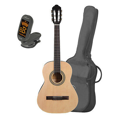 Artist CB3 3/4 Size Classical Nylon String Guitar + Bag and Tuner - New