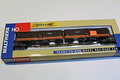 Walthers HO Scale Illinois Central IC # 903 Flexi-Van Flat Car with Trailers