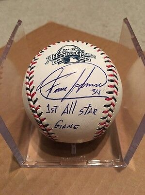 Felix Hernandez Signed Baseball 2009 All-Star Game Mariners Autographed MLB Holo
