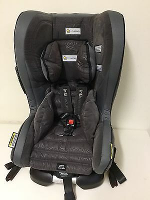 New Infa Kompressor II Luxury Isofix Newborn Convertable Grey Car Seat Baby