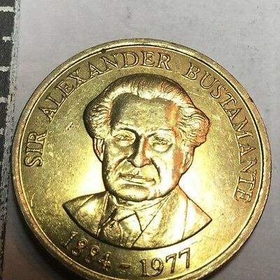 JAMAICA 1990 1 Dollar coin Nice uncirculated