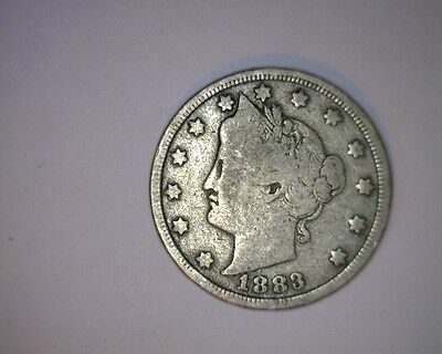 1883 5C No Cent Liberty Nickel (5-75 )