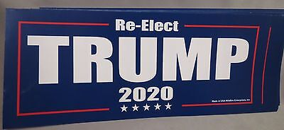 Wholesale Lot Of 20  Re-Elect Trump 2020 Stickers For President Donald Usa Decal