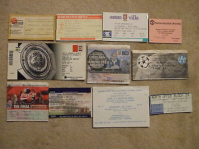 ticket chelsea away v manchester united 78/9
