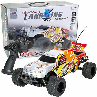 LandKing Radio Remote Control Off Road Racing RC Car Buggy Monster Truck - RED