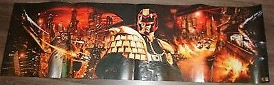 Large Long Judge Dredd Movie Poster Sylvester Stallone - 39 in x 18 in - rare