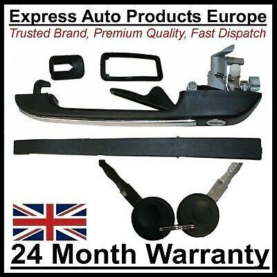Front Door Handle with Lock & Keys RIGHT replaces VW 191837206A