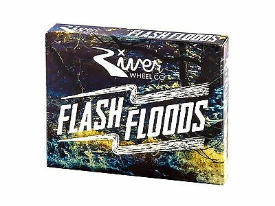 River Wheels Flash Floods Scooter Bearings - Pack of 4
