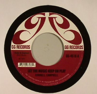 """CAMPBELL, Cornell - Let The Music Keep On Play - Vinyl (7"""")"""