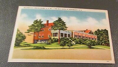 Old Postcard  PORTSMOUTH, NEW HAMPSHIRE   {MACARNOLD'S LOBSTER POUND}