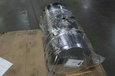 """Kenworth After Market 15"""" Donaldson Stainless Air Cleaner w/7in Inlet"""