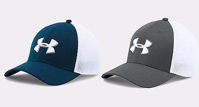New For 2017 - Under Armour Golf 2017 Mesh STR 2.0 Men's Golf Cap - Fitted Hat