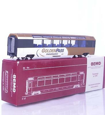 "MINT BEMO 3288 311 HOm - SWISS ""GOLDEN PASS"" PANORAMA PASSENGER CAR MOB Bs 251"