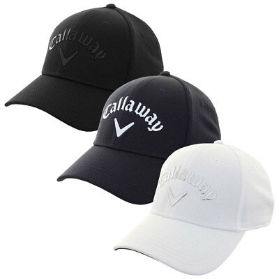 Callaway Golf 2017 Mens Liquid Metal Adjustable Cap UV Protection Antimicrobial