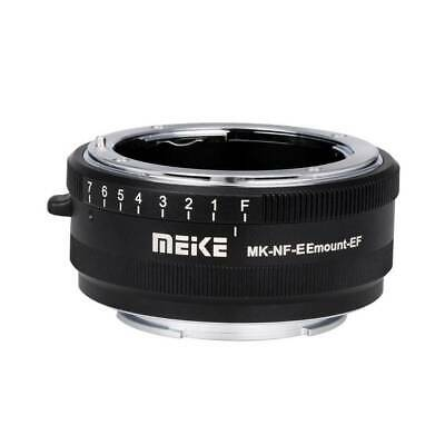Meike MK-NF-E mount adapter Nikon F-mount to Sony E-mount