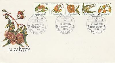 1982 Australia Eucalypts First Day Cover Special PMK Ref: MT272