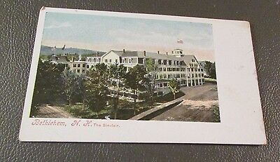 Old Postcard  BETHLEHEM, NEW HAMPSHIRE   { THE SINCLAIR HOTEL}