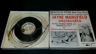 Very Rare Banned Jayne Mansfield 8Mm Heritage Films 100Ft Private Adult Glam