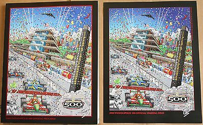 2004 Indy 500 Program w/Starting Field Insert Indianapolis Motor Speedway