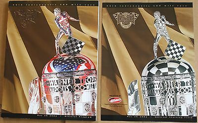 2002 Indy 500 Program w/Starting Field Insert Indianapolis Motor Speedway