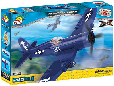 Cobi 5523 - Small Army - Wwii Us Vought F4U Corsair - Neu