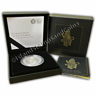 The Lion of England 2017 UK One Ounce Silver Proof Coin
