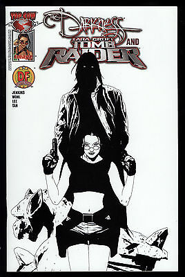Darkness and Tomb Raider (2005) #1 First Print DF Exclusive No COA Jae Lee NM