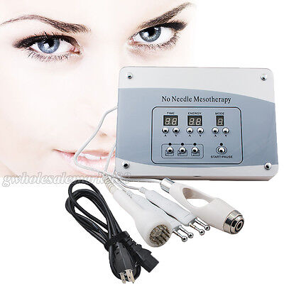 Needless Mesotherapy Facial Spa Microcurrent Face Lifting Photon Beauty Machine
