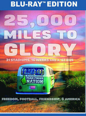 25,000 Miles To Glory (2017, Blu-ray New)