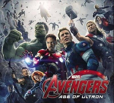 Marvel's Avengers: Age of Ultron: The Art of the Movie Slipcase [Hardcover Book]
