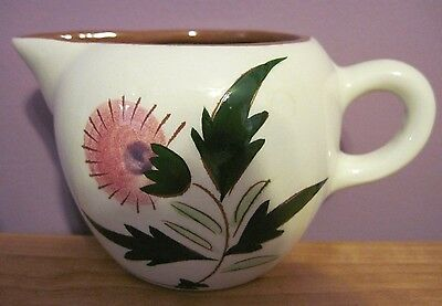 Stangl Thistle 8 Ounce Creamer ~ Nice Condition