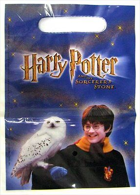 HARRY POTTER Sorcerer's Stone FAVOR BAGS (8) ~ Birthday Party Supplies Treat