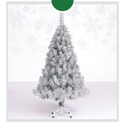 * Xmas Christmas Celebrate Gift Height 1.2m Silver Christmas Tree Decoration