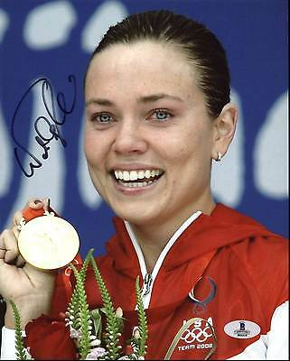 Natalie Coughlin 2008 Olympics Swimmer Authentic Signed 8X10 Photo BAS #B04316
