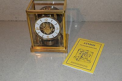 ++ Atmos Le Coultre  Perpetual Motion Clock -15
