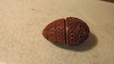 Antique Vegetable Ivory Sewing Egg