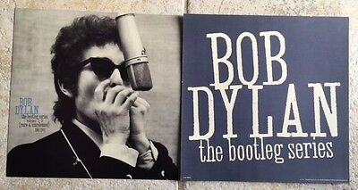 Bob Dylan Promo Poster Rare The Bootleg Series Vol.1-3 1991 Vintage MINT
