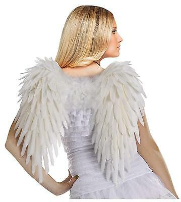 White Angel Ladies Feather Costume Wings