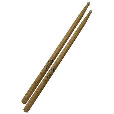 5B Nylon Tip Oak Drum Sticks DP Percussion DP5BN