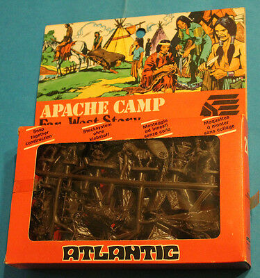 ATLANTIC 1/72 Far-West Story - Apache's Camp - SU SPRUES 2056 SCATOLA A FINESTRA