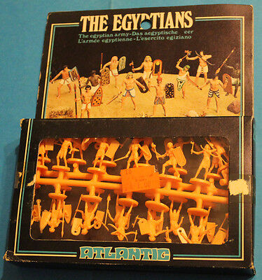 ATLANTIC 1/72 The Egyptian Army - SU SPRUES 2502 SCATOLA A FINESTRA -VINTAGE