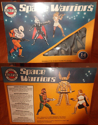 AIRFIX 1/32 - Space Warriors - Mint in Sealed Box Rare Figures - VINTAGE  Boxed