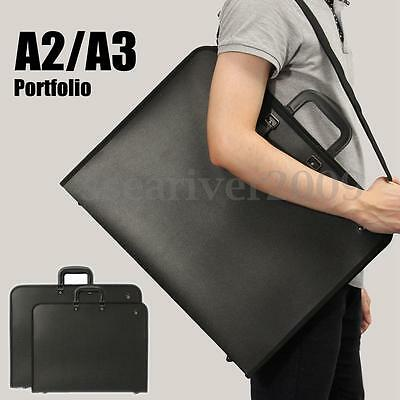 Waterproof A2 A3 File Bag Portfolio Painting Storage Folder Document Carry Cases