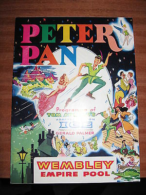 Peter Pan on Ice, Wembley Empire Pool. 1960's? brochure