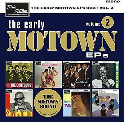 "THE EARLY MOTOWN EPs : VOLUME 2 (Various) 7 x 7"" VINYL Singles Box Set (2017)"