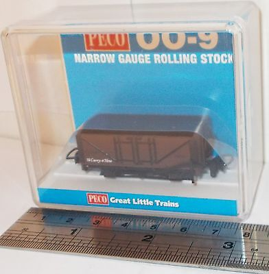 Peco GR-201U - Open Wagon, Brown Unlettered                New       (009)