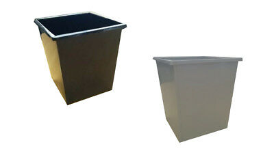 Tuffabin Metal Waste Paper Rubbish Bin Dustbin Trash Can - Different Colours