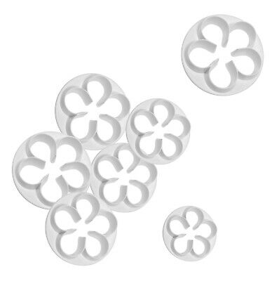 PME 5 PETAL FLOWER Plastic Cut Out Cutter for Sugarcraft Icing Cake Decorating
