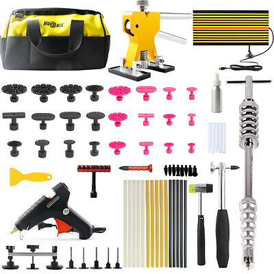 PDR Paintless Dent Repair Tools Puller Lifter Hail Glue Gun Hammer Removal Kits